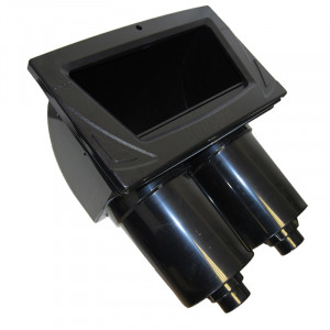Black Complete skimmer double filters
