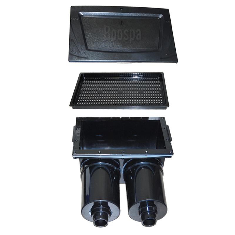 Skimmer complet Black double filtres