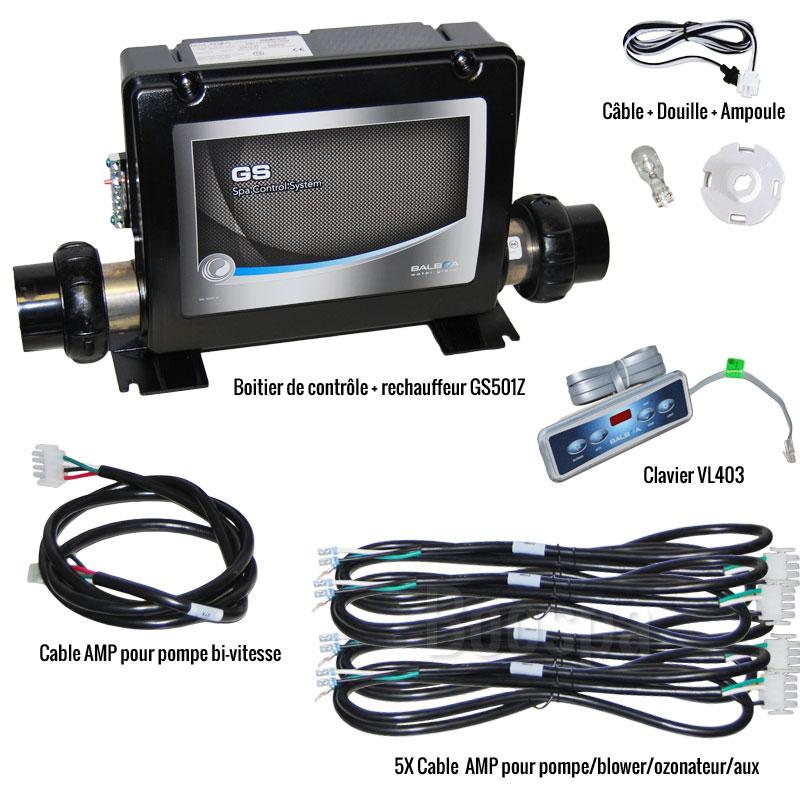 Retrofit kit VL403 + GS501Z