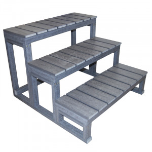 3 Steps Resin Stair for Spa