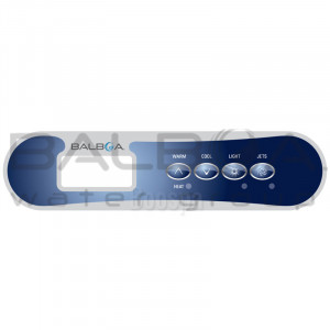 Overlay for TP400T / TP400W Control Panel