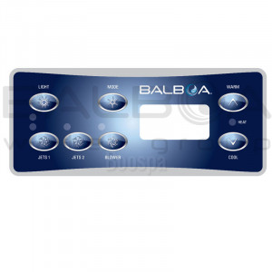 Overlay for ML551 Control Panel