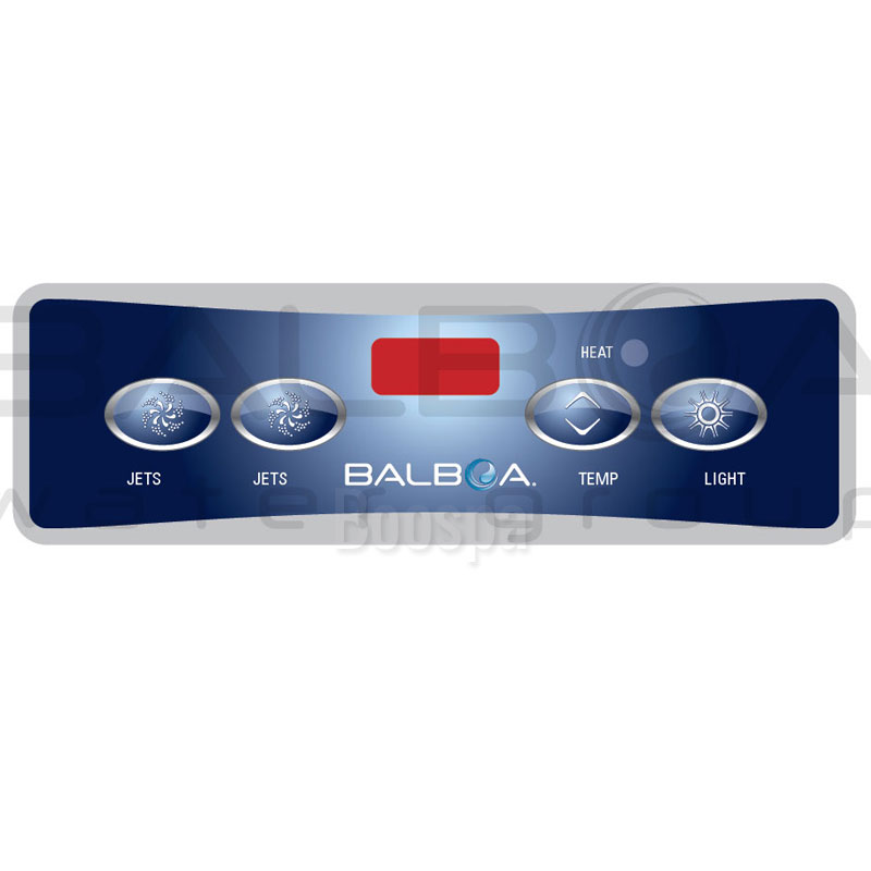 Overlay for VL403 Control Panel