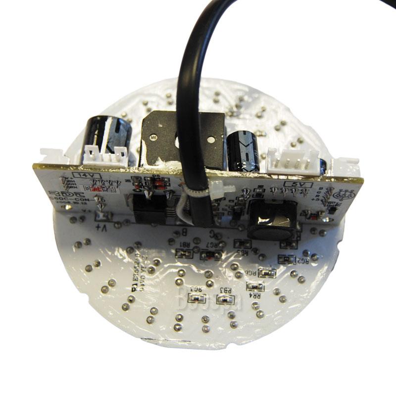 Plaque 60 LED avec câble AC12V