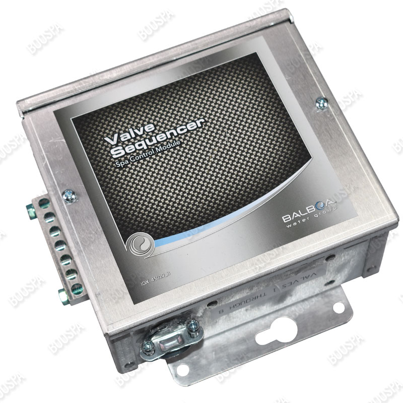 Valve sequencer spa control module