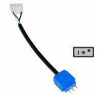 Amp Plug to Mini J&J Circulation pump Adapter