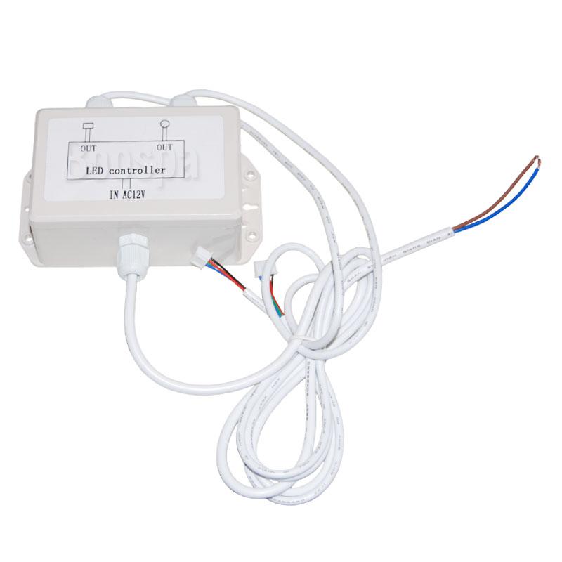 LED Connector Box 12V to RVB/RGB