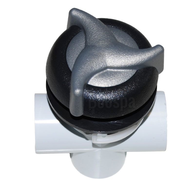 Waterfall Flow-Control Valve ABS Star Grey/Black