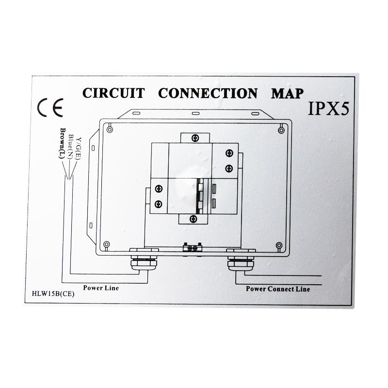 Boitier de controle + boitier d'alimentation HLW15B