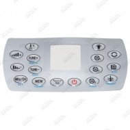 Overlay for KL8-3 Control Panel