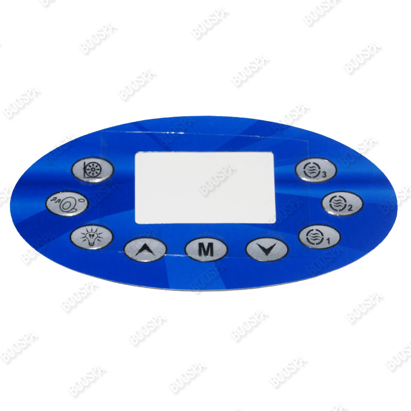 Overlay for KL8600 Control Panel
