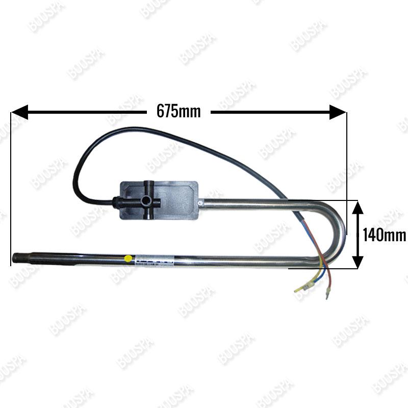 58374 2.7 kW trombone Heater