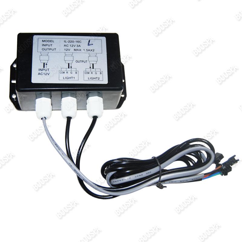 Boitier connecteur LED 12V vers RVB/RGB
