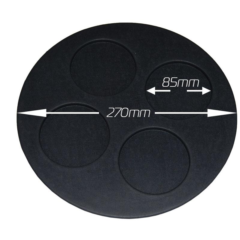 KZ226A Spa Circular Glass Holder