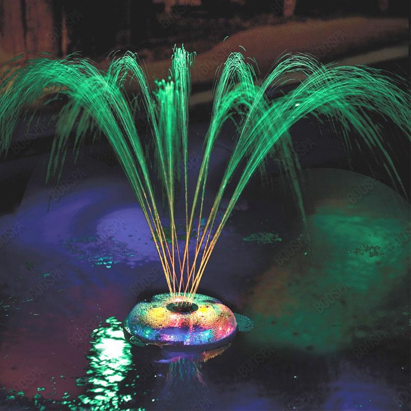 Underwater Light Show - Fountain