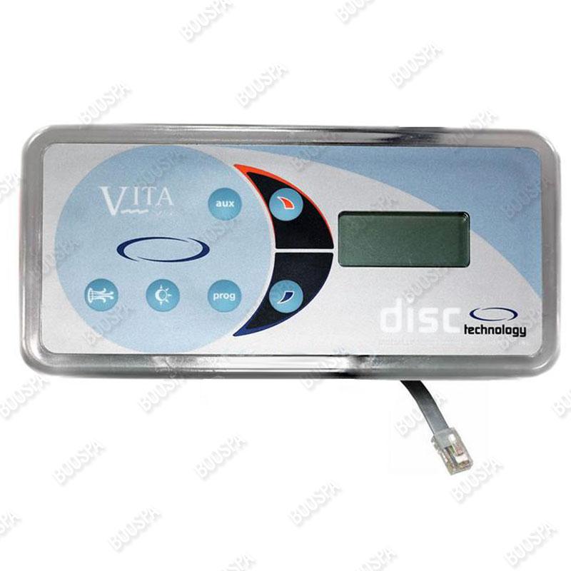 Clavier de commande VitaSpa L100/L200