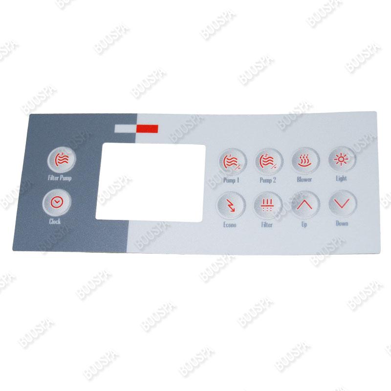 Overlay for TSC-4 Control Panel