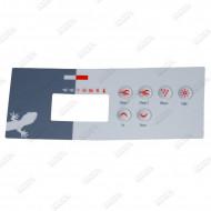 Autocollant pour clavier TSC-35