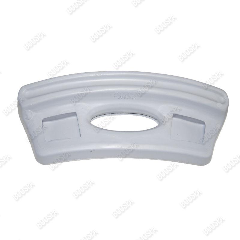 AF00043 and AF00035 straight headrest for Wellis® spas