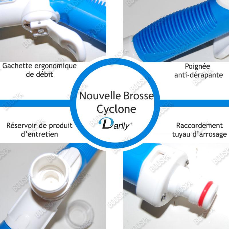 Brosse de nettoyage filtre New Cyclone