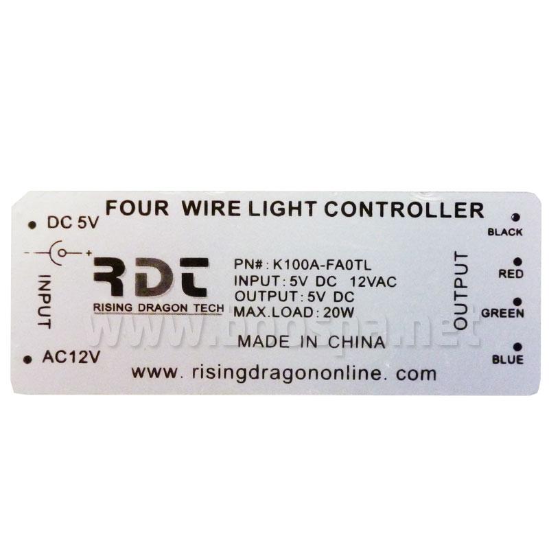 Boitier connecteur LED K100A