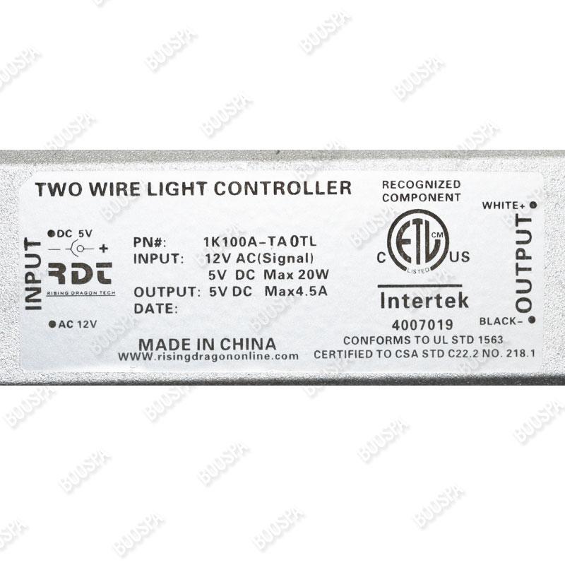 Boitier connecteur LED 1K100A