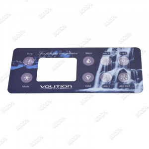 Type 4 Overlay for Volition® spa control panel