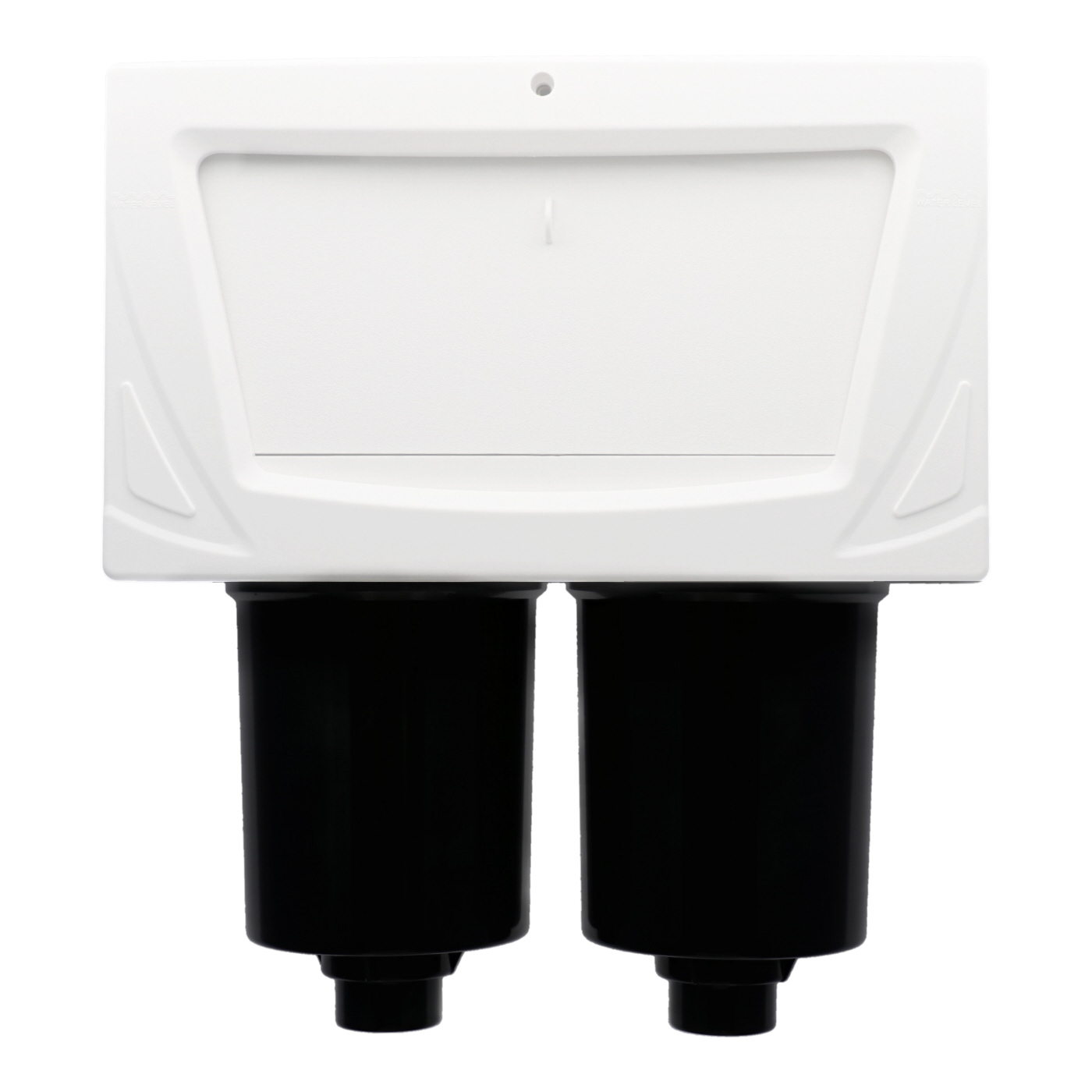 Double filter skimmer for 1.5 inch pipes