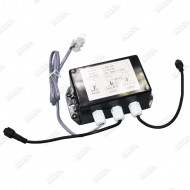 Boitier connecteur LED 12V vers 2 X DIN