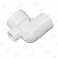 1.5'' 90° Elbow M/F with 1/2'' injector