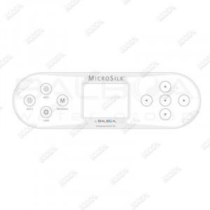 Overlay for Microsilk TP800 Control Panel