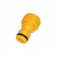 Plug adapter for garden hose