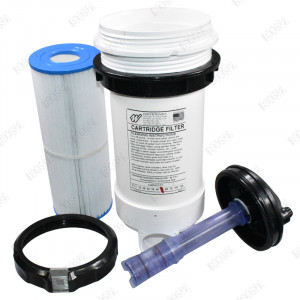 WATERWAY filter housing Top Load with bromine diffuser
