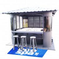 Pavillon de jardin pour Spa - Gazebo
