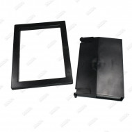 Front mounting plate and Filter Weir Door for spa skimmer
