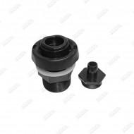 Vanne de vidange 1.5'' (48mm) à bague rotative - Modèle 2