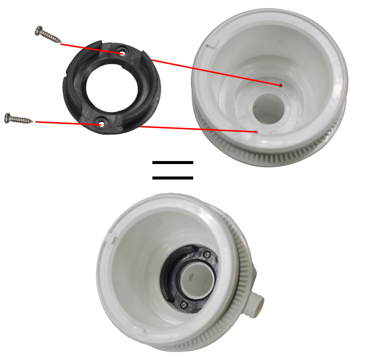 Threaded LVJ Adaptor for 3.5'' and 4.5'' Jet