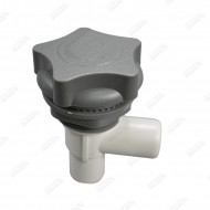 Waterfall grey flow-control valve 1 inche