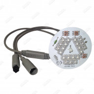 21 LED PCB with UltraBRITE Integrated Controller