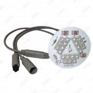 Plaque 21 LED avec controleur intégré UltraBRITE