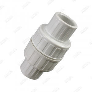 """Check valve for 1"""" spa piping"""