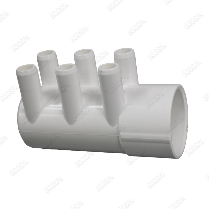 2'' Blocked manifold - 6 smooth ports 3/4''