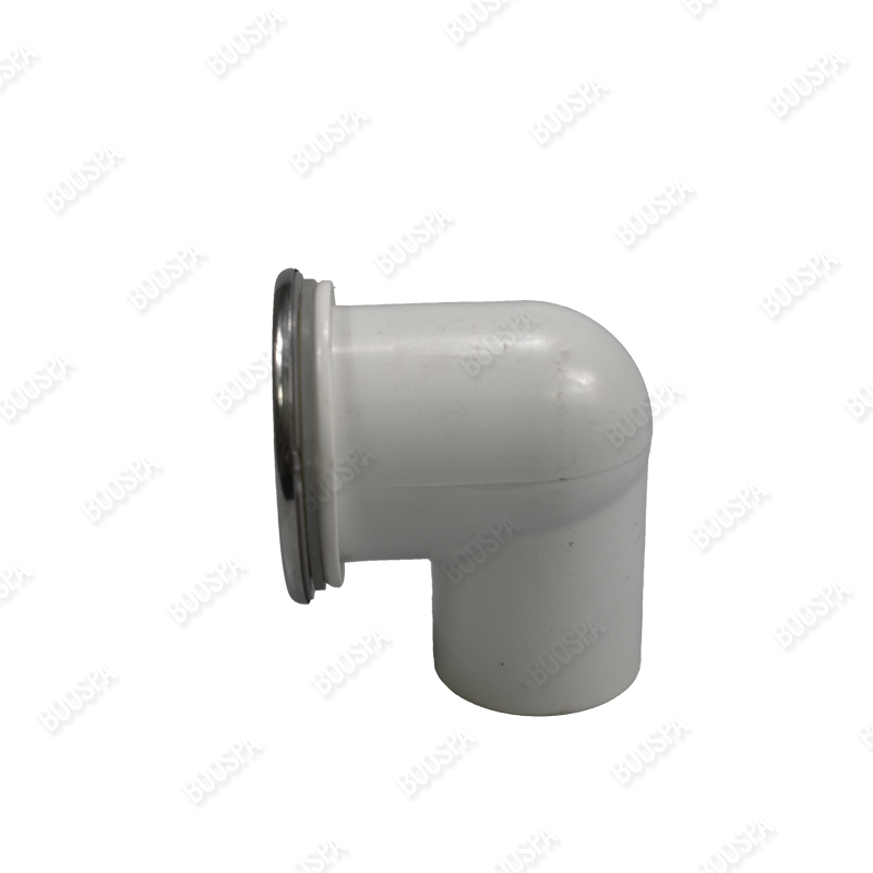 """1"""" Outlet fitting in ABS plastic/INOX"""