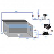 Kit filtration avec filtre à cartouche + réchauffeur CT100