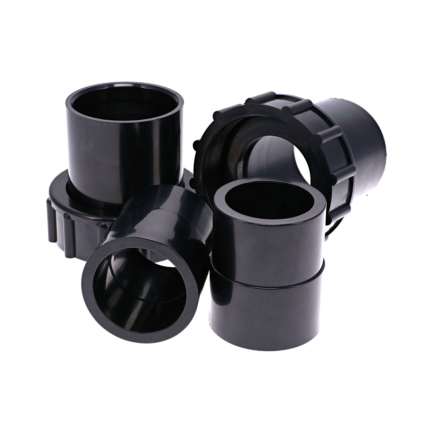 """Set of 2 2"""" and 2.5"""" union fittings for Argonaut pump"""