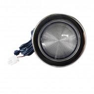12.5cm AC/DC12V spa light stainless style