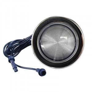 Projecteur 12.5cm 12V RGB Inox pour spa