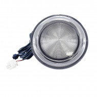 12.5cm AC/DC12V spa light plastic