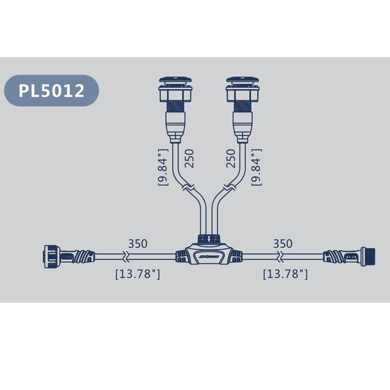 Câble LED PL5012 - 2 LEDS - JOYONWAY