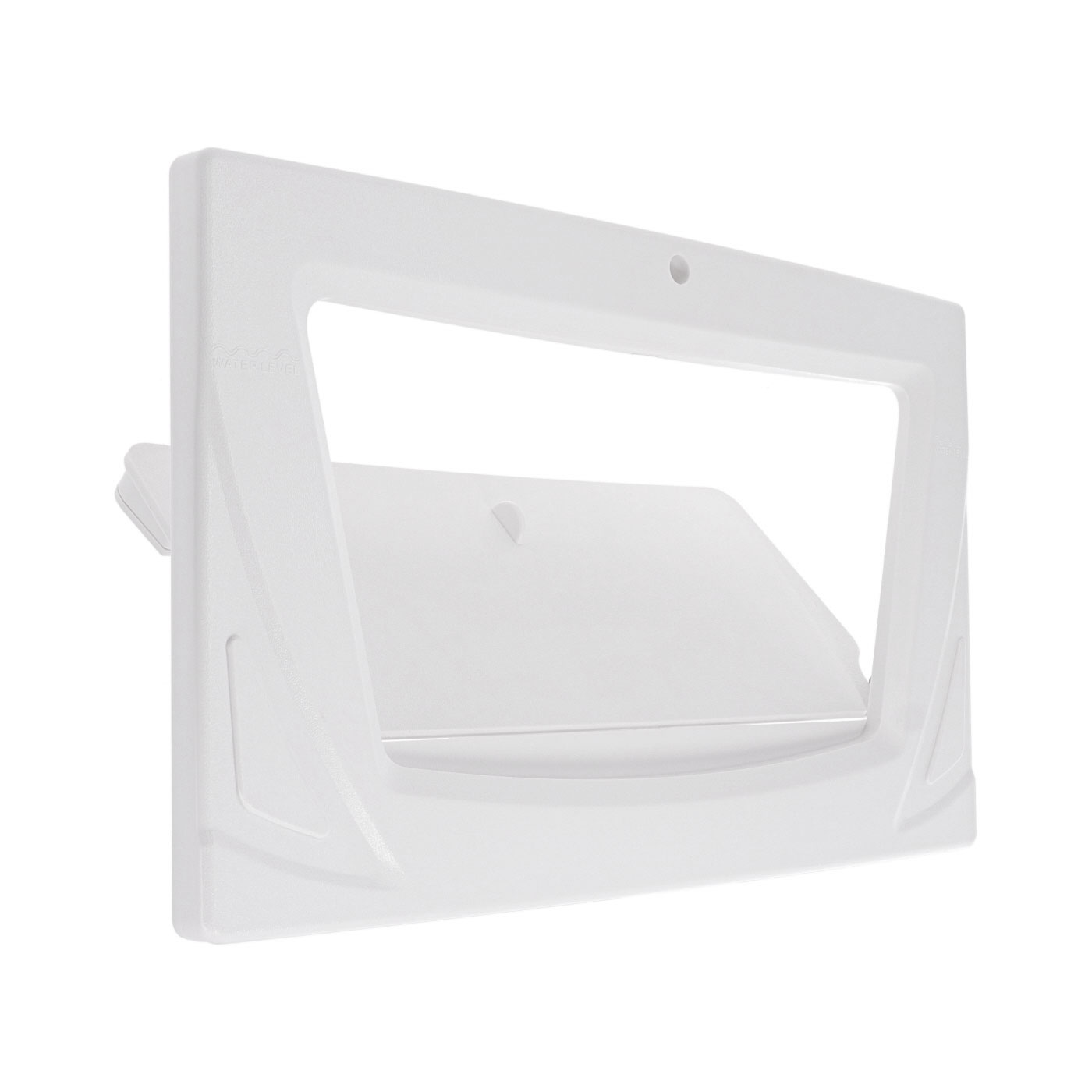 Faceplate and shutter for LVJ L-2111 skimmers